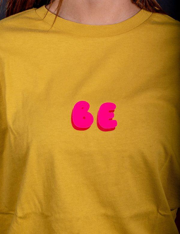 T Shirt Bubble Gialla