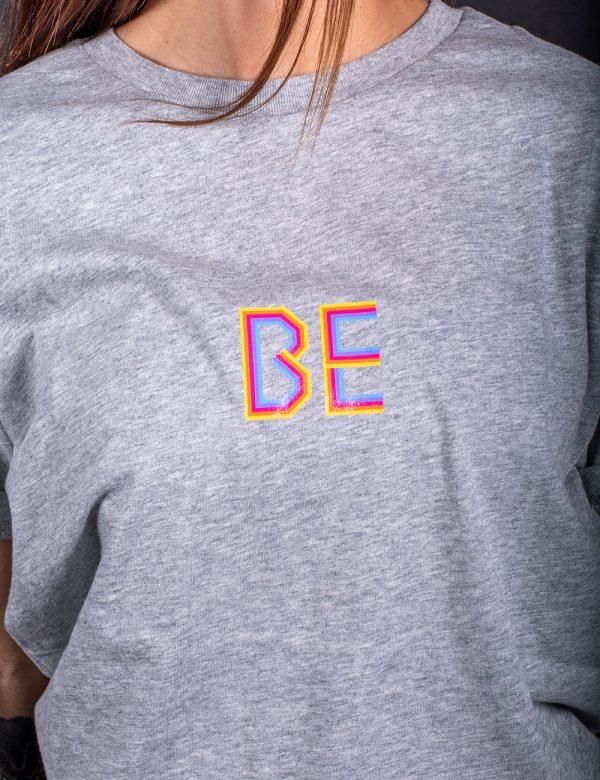 T-shirt Rainbow Grigia